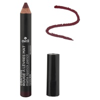 Matte lipstick pencil Bordeaux Certified organic