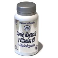 Wapń, Magnez i Witamina D3 + Organiczny Krzem