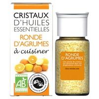 Citrus Round Essential Oils Crystals