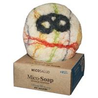Mico-Soap spugna e sapone per bambini di Reishi e Cioccolato