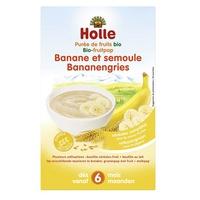 Organiczna owsianka bananowo-manna
