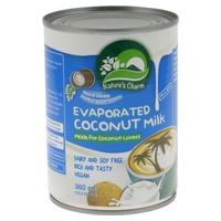Latte di cocco evaporato