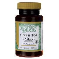 Ekstrakt z zielonej herbaty, 500 mg
