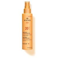 Nuxe Sun - Leche corporal y facial protección media SPF20