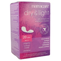 Compresa Incontinencia Dry & Light