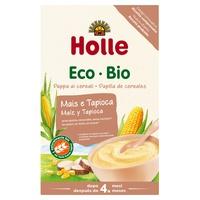 Mingau orgânico de milho e tapioca (sem glúten)