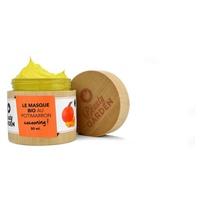 Organic mask with pumpkin