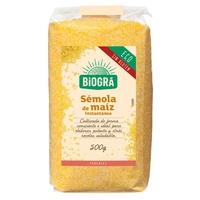 Corn Semolina (Polenta) Bio