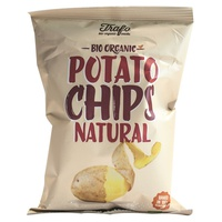 Bio potato chips naturali