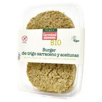 Burguer Trigo sarraceno y aceitunas