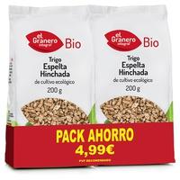 Pacote de trigo de espelta orgânica