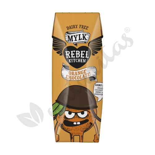 Bebida de Coco con Naranja y Chocolate