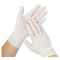 One Size Latex Gloves