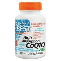 CoQ10 à haute absorption avec BioPerine, 100 mg