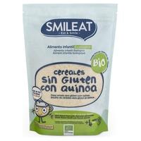 Papilla ecológica de cereales sin gluten con quinoa