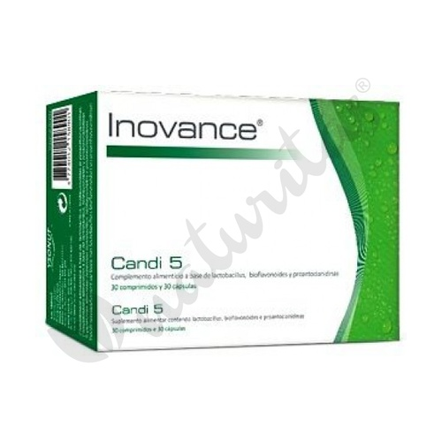 Candi 5 30 comprimidos y 30 cápsulas de Inovance