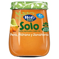 Tarrito Pera, Plátano y Zanahoria Eco