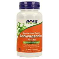 Ashwagandha 450 mg Extracto Estandarizado a 2,5% Withanólidos