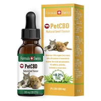 CBD Oil for Pets Flavor Veal in Oil MCT 300 (<0.2% THC)