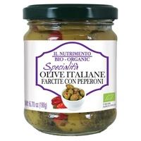Olives farcies aux poivrons