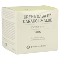 Botánica Nutrients Crema de Baba de Caracol y Aloe Vera 24h