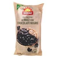 Tortitas de Maíz con Chocolate Negro Bio