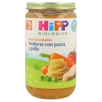 Tarrito Bio Verduras con Pasta y Pollo (12 meses)