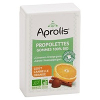 Organic Tender Gumy Propolettes Propolis, Cynamon, Pomarańcza