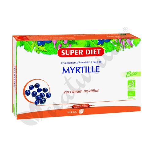 Mirtilo (Arándano Negro) 20 ampollas de Super Diet