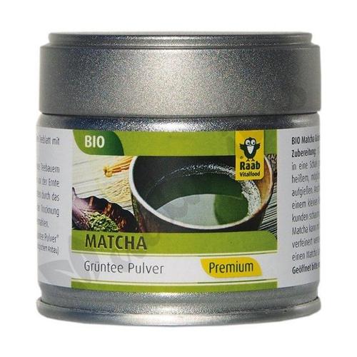 Té Matcha Verde Polvo  30 Gr de Raab