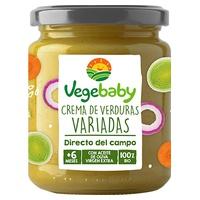 Puré Crema de Verduras Variadas (+6)