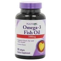 Omega-3 Óleo de Peixe, 1000mg