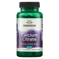 Citrate de calcium, 200 mg