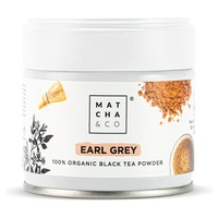 Czarna herbata Earl Grey w proszku