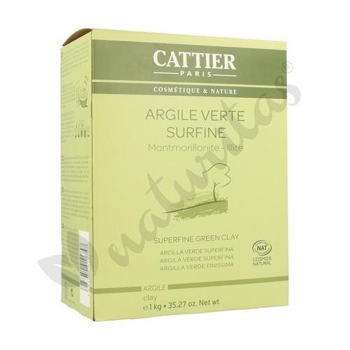 Arcilla Verde Superfina 1 kg de Cattier