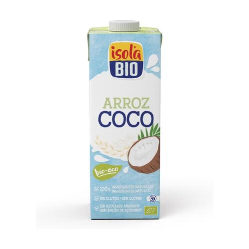 Bebida de arroz y coco Bio