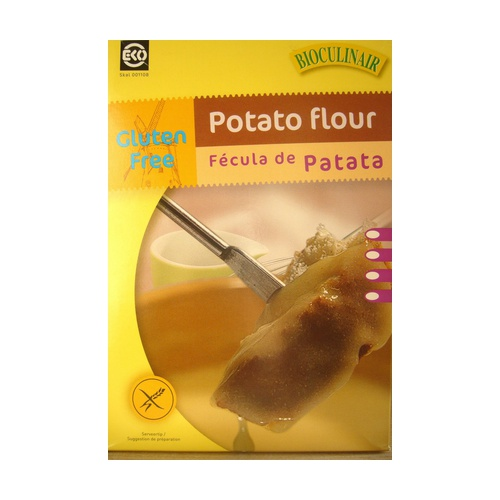 Fécula Patata Bio sin Gluten 250 gr de Bioculinair