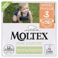 Couches Moltex Pure & Nature T3 (4-10 kg)