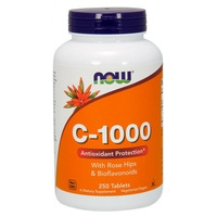 Vitamina C 1000 mg con Escaramujo & Bioflavonoides
