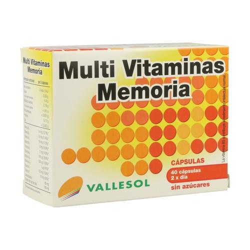 Vallesol Multivitaminico Memoria