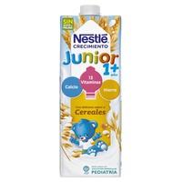 Junior liquid milk cereal growth for + 12m