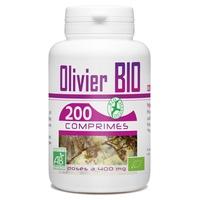 Olivier feuille bio 400 mg