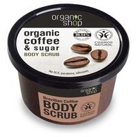 Gruby peeling do ciała z organiczną kawą brazylijską (bdih)