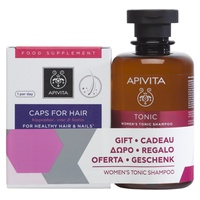 Capsules For Hair Loss + Gift Toning Shampoo Woman