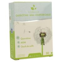 Quercetin Allergy Formula, Msm, Quail Eggs