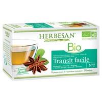 Herbesan Infusion Easy Digestion BIO Mięta pieprzowa, tymianek, koper włoski i melisa