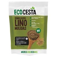 Organic ground flax seeds