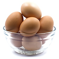 Huevos ecológicos frescos de gallina