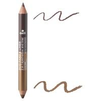 Duo cień do powiek i konturówka Expresso / Pearl bronze Certified Organic