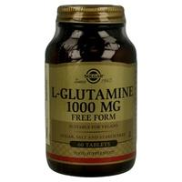 L-Glutamina 60 comprimidos de 1000 mg de Solgar